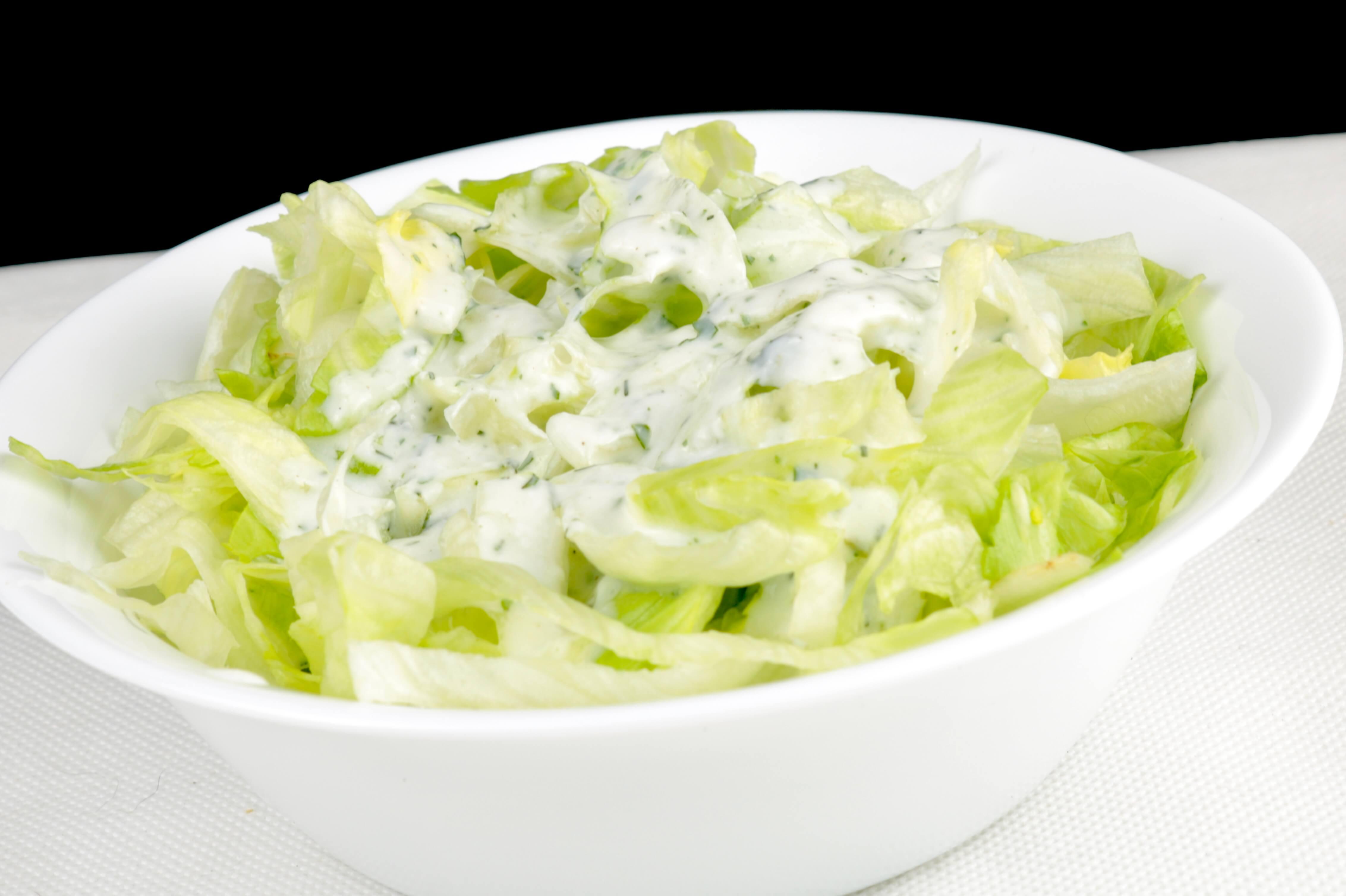 Einfaches salatdressing