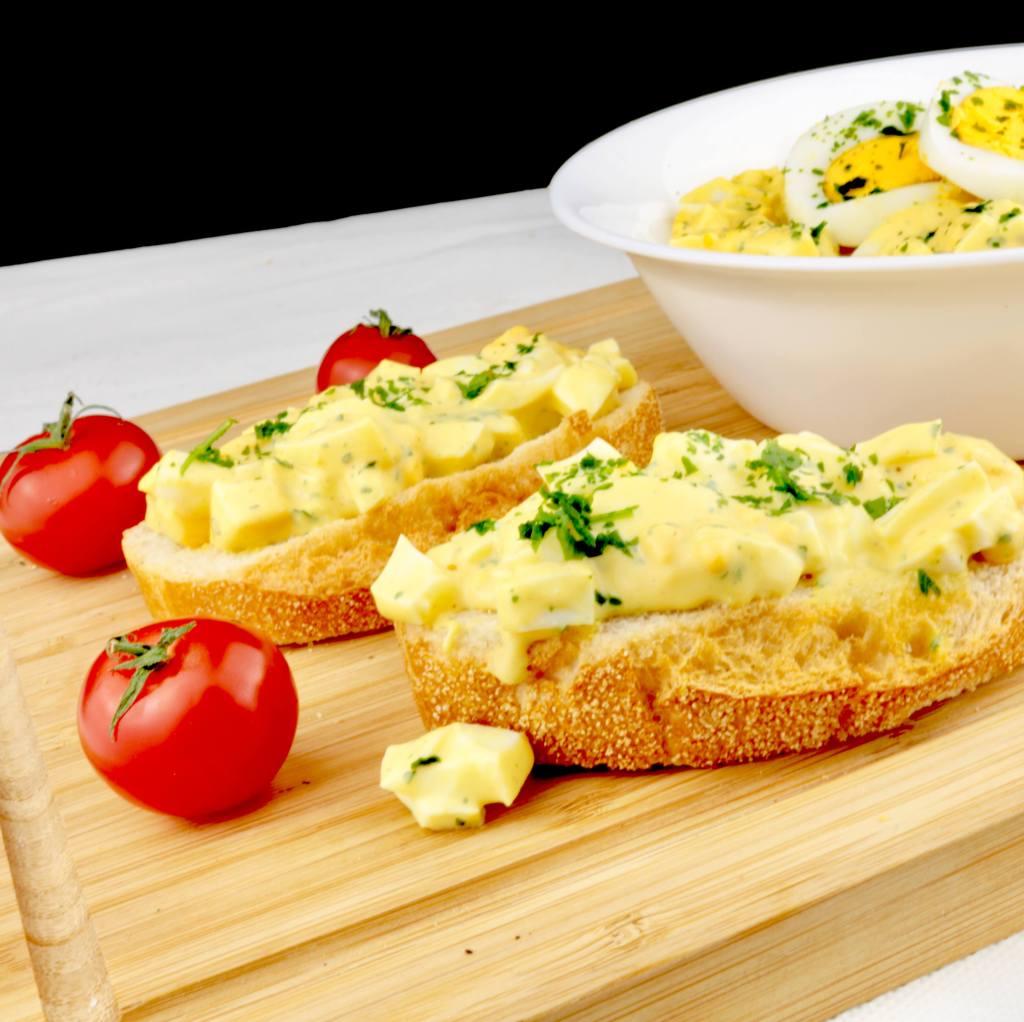 Zubereitung Omas einfacher Eiersalat