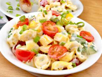 Gril Beilage Tortellini Salat