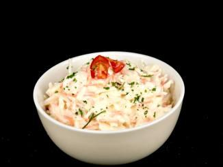 Coleslaw - Eine einfache amerikanische Krautsalat Variante