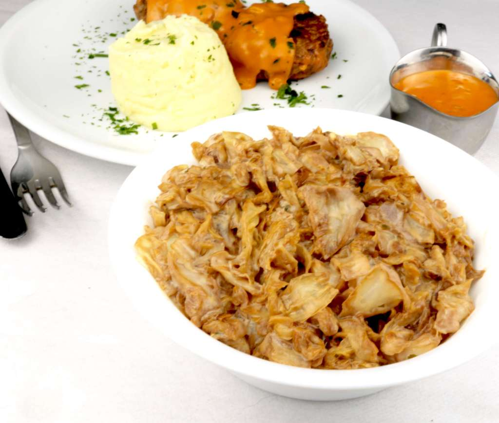 Gemüse Beillage mit Spitzkohl