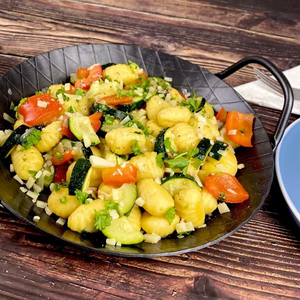 Gnocchi Pfanne mit Zucchini