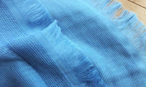 今治タオルマフラー裾