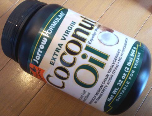 ココナッツオイル表