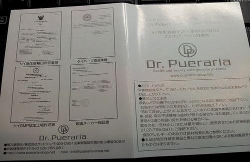 ドクタープエラリア書類