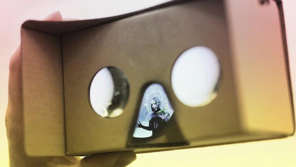 Zubr Google Cardboard with Bjork Web VR experience