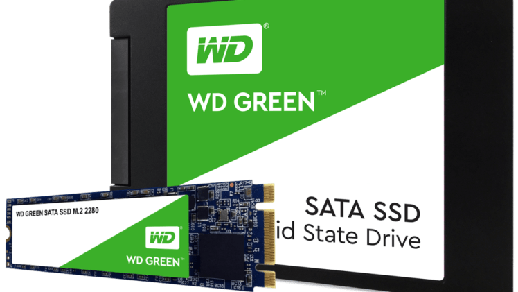 WD SSD and NVMe