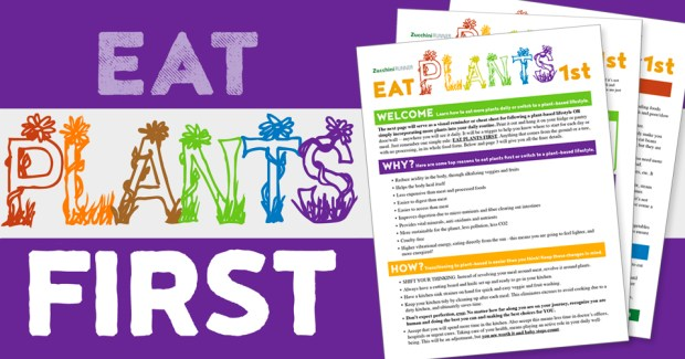 eat plants first quick start guide