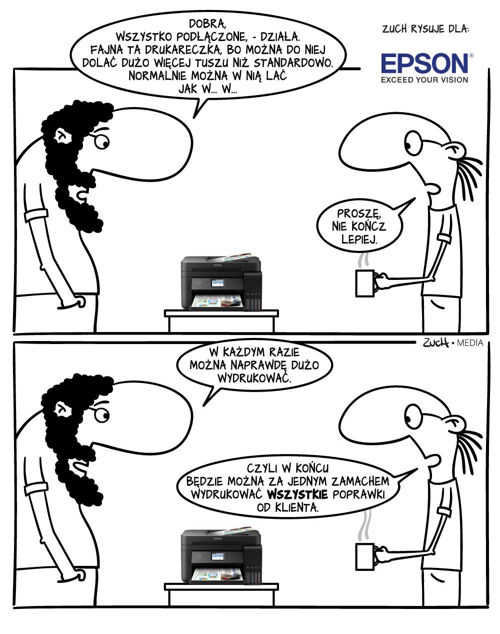wydajna drukarka
