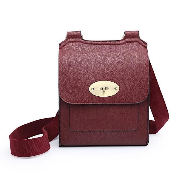 Messenger Bag Burgundy