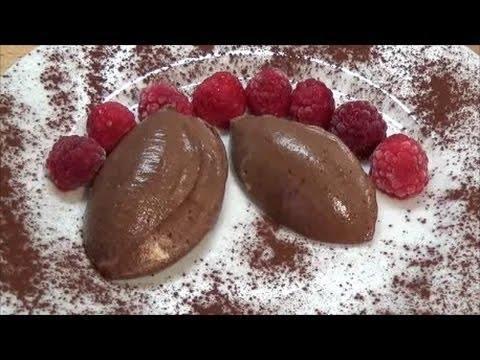 Mousse au Chocolat, Schoko-Sahne-Mousse ohne Zucker Zusatz, Low Carb / LCHF Rezept! Gesüßt wird das Schoko-Sahne-Mousse ausschließlich mit Xucker (Xylit / Birkenzucker)!