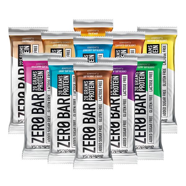 Biotech USA Zero Bar Schokolade-Pflaume Proteinriegel 50 g