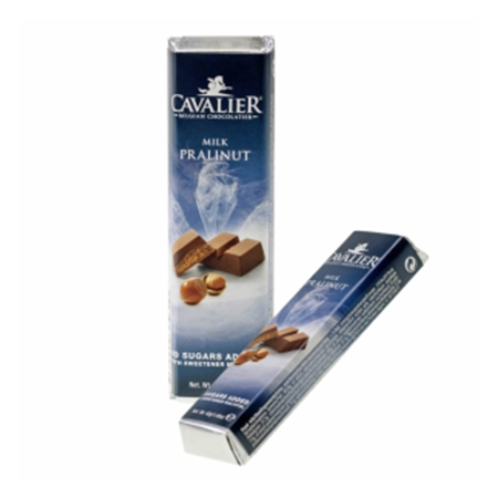 """Cavalier Schokoriegel """"Milch-Praline-Nuss"""" 42 g, Schokolade ohne Zucker kaufen. Cavalier Schokolade ohne Zucker kaufen."""