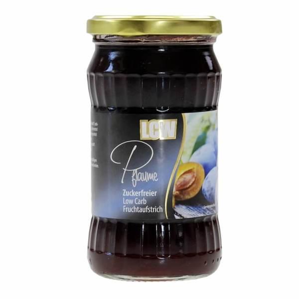 """LCW Gourmet Fruchtaufstrich """"Pflaume"""" (Zwetschke) 340 g, zuckerfreie Marmelade von LCW kaufen. Marmelade ohne Zucker von LCW kaufen."""