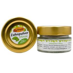Zahnkreide (Zahnpulver) mit Xylit 30 g Glas. Xylit Zahnkreide kaufen im Shop > Calciumcarbonat, Birkengold® Xylit und Kräutern reinigt schonend die Zähne