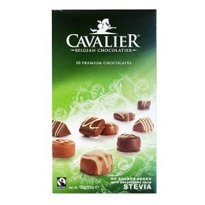 Cavalier Stevia Pralinen Mischung 100 g ohne Zucker online kaufen. Cavalier Stevia Pralinen Mischung, Kalorien arm, Kohlenhydrat reduziert, zuckerfrei!