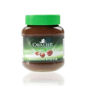 Cavalier zuckerfreie Haselnusscreme mit Stevia 360 g Glas online kaufen! Cavalier Spread, Ohne Zucker Zusatz, gesüßt mit Stevia & Erythrit. Cavalier Produkt