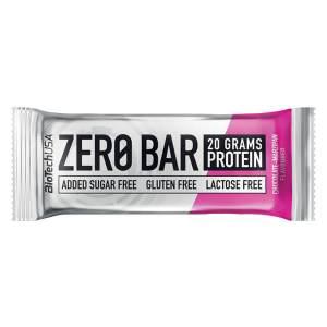 Biotech USA Zero Bar Schokolade Marzipan Proteinriegel 50 g kaufen. BioTech USA Zero Bar / PowerBar (Schoko Marzipan) kaufen. Zuckerfreier Protein Riegel!