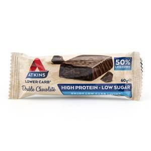 Atkins Proteinriegel Double Chocolate 60 g, Atkins Protein Riegel, Eiweißriegel online kaufen & bestellen. Atkins Riegel Online Shop - Top Preis!