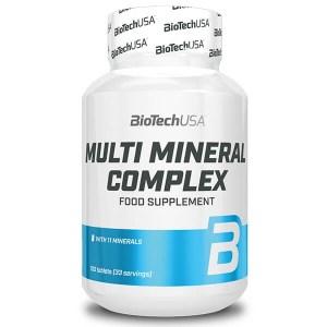 BioTech USA MULTI MINERAL COMPLEX 100 Tabletten online kaufen. 11 Mineralien und Spurenelemente. 3x1 Tablette/Tag. BioTech USA MULTI MINERAL COMPLEX kaufen!