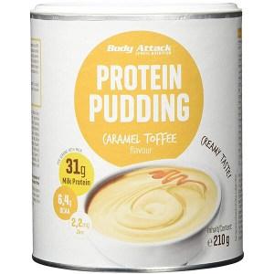 Body Attack Proteinpudding Caramel-Toffee 210 g Dose online kaufen. Body Attack Proteinpudding Caramel-Toffee mit 30 g Eiweiß / Protein, BCAA & Vitaminen. Protein Pudding kaufen, Proteinpudding bestellen.