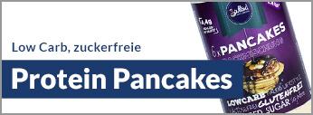 Zuckerfrei Protein Pancakes kaufen. Pancakes, Pfannkuchen mit Protein online kaufen