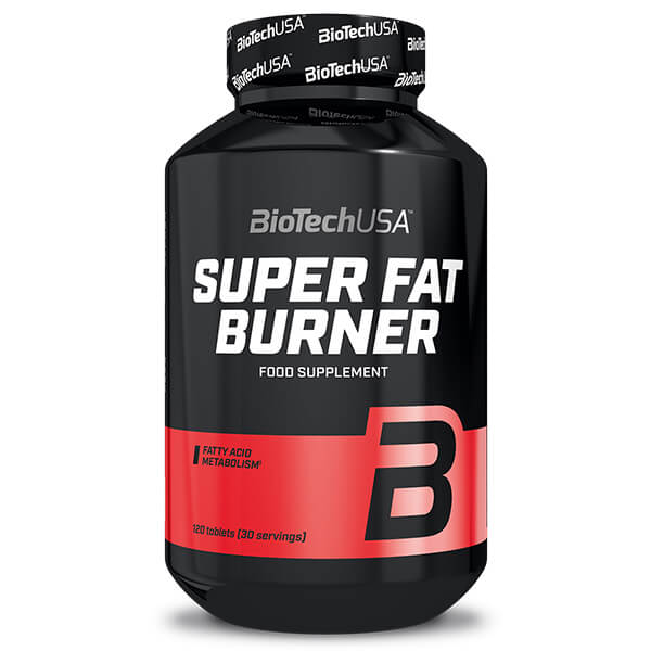 BioTechUSA Super Fat Burner 120 Tabletten. Fatburner kaufen USA! BioTechUSA Super Fat Burner zur Unterstützung beim Abnehmen / Fettverbrennung!
