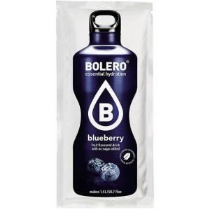Bolero Instant Blaubeere Getränkepulver. Bolero Instant im 9 g Beutel kaufen! Bolero Instant Erfrischungs Getränkepulver Beutel für fertiges Getränk