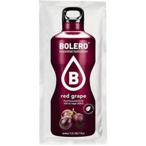 Bolero Instant rote Traube Getränkepulver. Bolero Instant im 9 g Beutel kaufen! Bolero Instant Erfrischungs Getränkepulver Beutel für fertiges Getränk