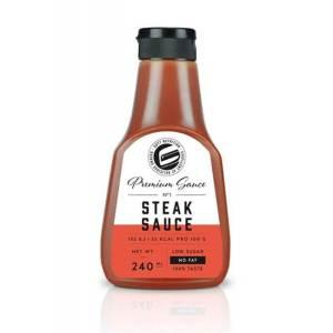 GOT7 Nutrition Premium Sauce Steak Sauce 240 ml kaufen. Low Carb Steaksauce von GOT7 online kaufen. 100% Geschmack und dabei Low Carb und glutenfrei!