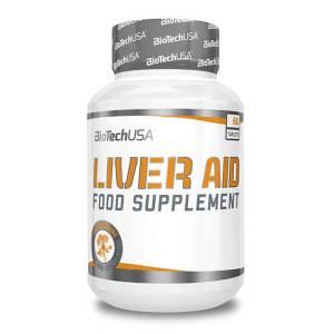 BioTech USA Liver Aid Nahrungsergänzung zur Unterstützung der Leberfunktion 60 Tabletten. BioTech USA Liver Aid online kaufen. 60 Tabletten pro Packung!