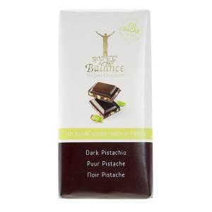 Balance Schokoladentafel Dark Pistachio ohne Zuckerzusatz 85 g. Zuckerfreie Schokolade / Schokolade ohne Zucker Zusatz von Balance Chocolate kaufen!