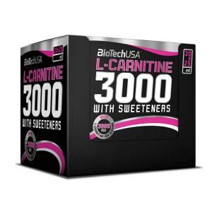 BioTech USA L-Carnitine Ampullen 3000 mg Shots Orange 20 Stk 25ml
