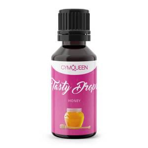 GymQueen Tasty Drops Honig 30 ml kaufen. GymQueen Flavour Drops kaufen. OHNE Kalorien, Zucker, Fett, KH, uvm. Flavour Drops online kaufen!
