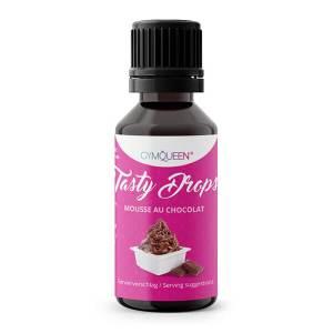 GymQueen Tasty Drops Mousse au chocolat 30 ml kaufen. GymQueen Flavour Drops kaufen. OHNE Kalorien, Zucker, Fett, KH, uvm. Flavour Drops online kaufen!