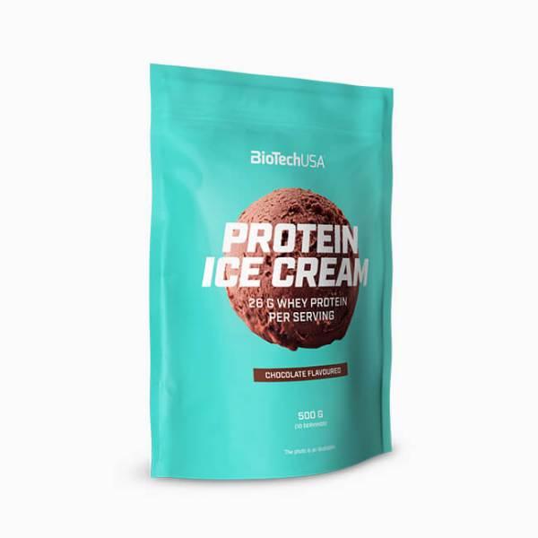 BioTechUSA Protein Ice Cream Proteinein Eispulver Schokolade 500 g Beutel, Proteineis kaufen