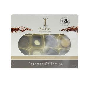 Balance Pralinensortiment ohne Zuckerzusatz 145 g. Kreative, zartschmelzende Pralinen, hochwertig und edel verpackt. Ideal zum Selbernaschen und Schenken.