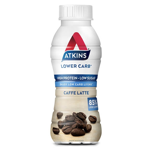 Atkins Ready to Drink Proteinshake Kaffee verzehrfertig 330 ml. Trinkfertiger Proteingenuss mit leckerem Kaffee-Geschmack.