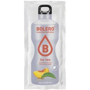 Bolero Instant ICE TEA PEACH Getränkepulver für 1,5 l fertiges Getränk. Bolero Instant 8 g Beutel kaufen! Bolero Getränkepulver zuckerfrei Eistee Pfirsich.