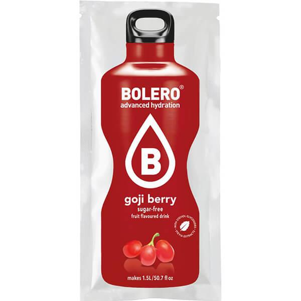 Bolero Instant Erfrischungsgetränkepulver 9 g Beutel GOJI BERRY Goji Beere! Bolero Instant Getränkepulver Beutel für fertiges Getränk.