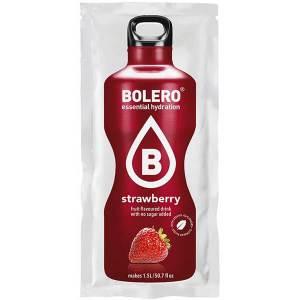 Bolero Instant Erfrischungsgetränkepulver 9 g Beutel STRAWBERRY für 1,5 l fertiges Getränk! Bolero Instant Getränkepulver Beutel für fertiges Getränk.