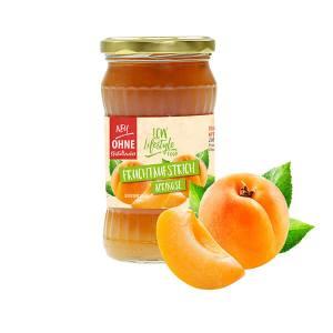 """LCW Gourmet Fruchtaufstrich """"Aprikose"""" 340 g. Köstlicher Aufstrich aus hochwertigen Früchten. Nur 1,9 g Zucker pro Portion."""