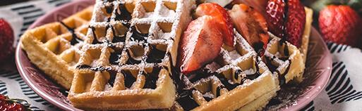 Zuckerfreie Lebensmittel Waffeln ohne Zucker. Low Carb Waffeln zuckerfrei kaufen im Online Shop
