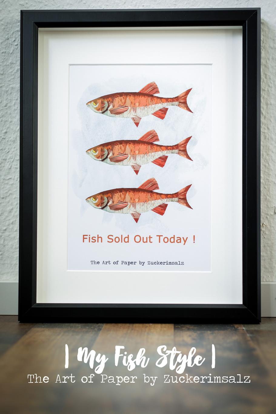 Das Poster – Der Foodplaner … My Fish Style … das Freebie