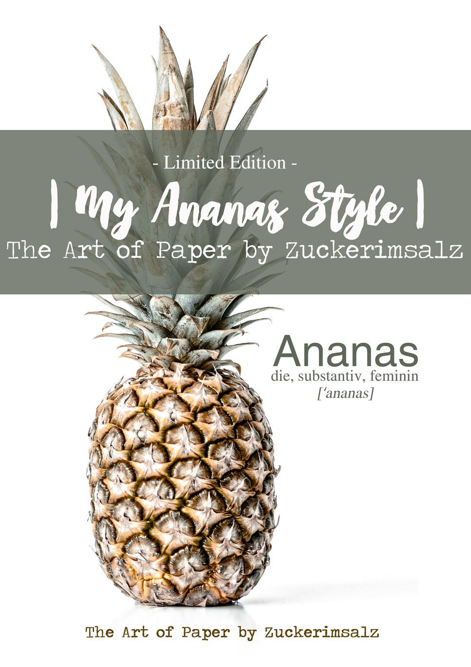 Das Poster – Der Foodplaner … My Ananas Style – Limited Edition … das Freebie