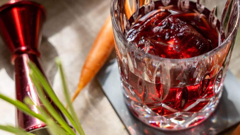spiced carrot negroni 4