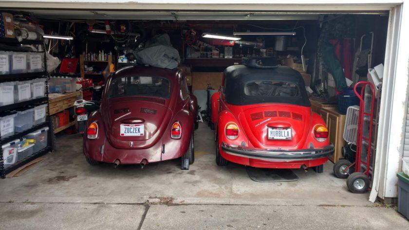 Żuczek and Murbella in the Garage of Love™