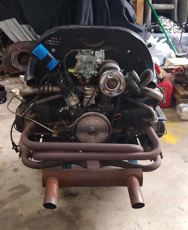 AE Engine - Front view