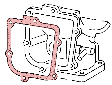 VW Type 1 FI Plenum Gasket