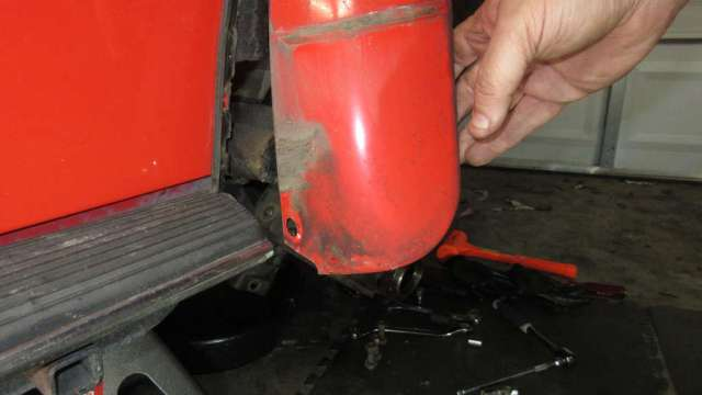 1979 VW Beetle - Partial Fender Removal